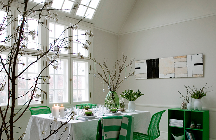 green-table-decoration-for-easter