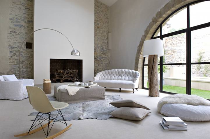 Cosy french home by marie laure helmkampf for Maison interieur zen