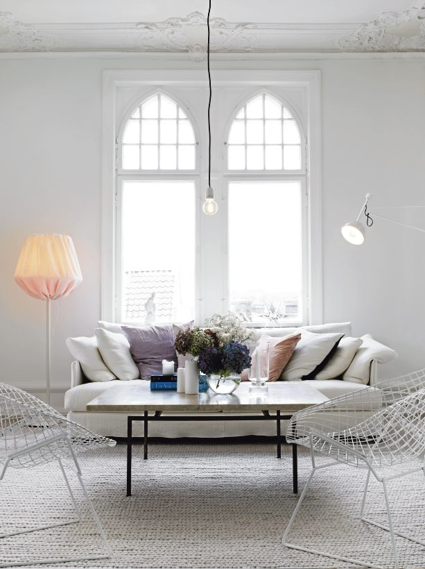 Swedish Apartment With Feminine Touch