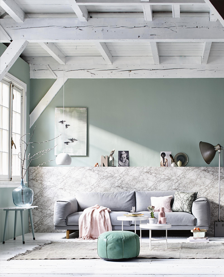 Spring inspiration in pastel colors 79 ideas for Living room ideas pastel