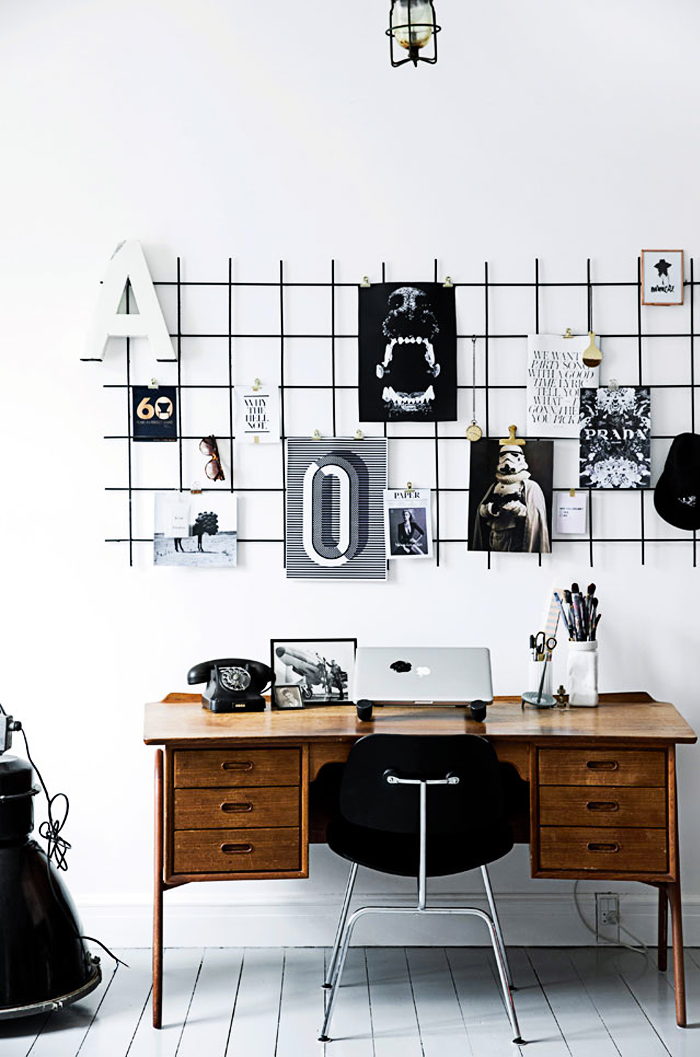 The home of the art director 79 ideas - Organiser un bureau ...